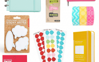 Pretty planners, calendars and accessories
