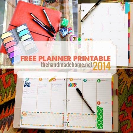 Free Planner Printable