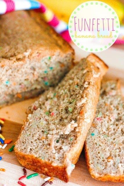 Funfetti Banana Bread