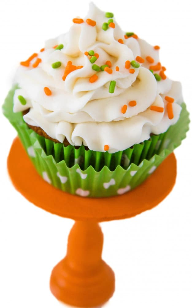Carrot Cake Cupcakes With Cream Cheese Frosting - Love From The Oven