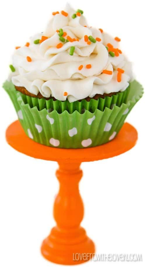 Cream Cheese Carrot Cake Cupcakes
