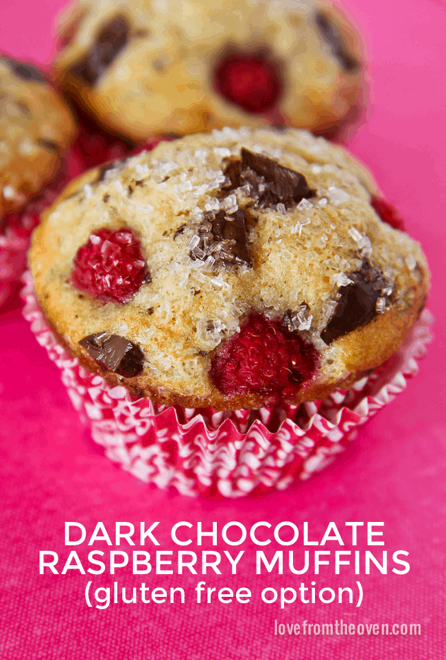 delicious muffin recipe for you today, Chocolate Raspberry Muffins ...