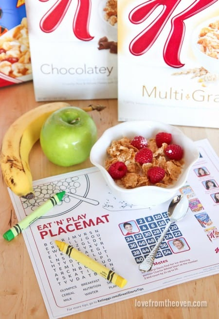 Eat And Play Placemat