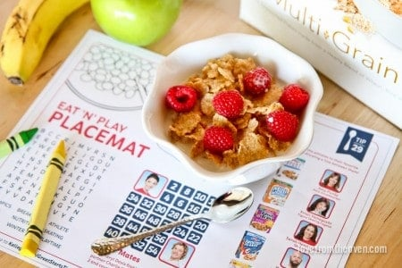 Eat 'N' Play Placemat