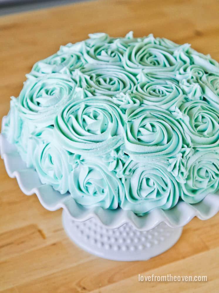 Lemon Rose Cake Disneyland Recipe