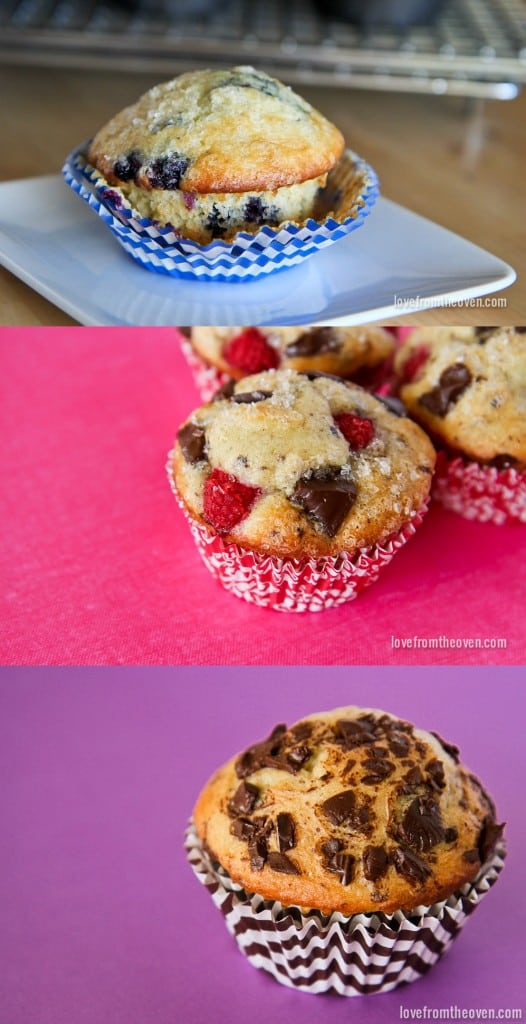 Regular and Gluten Free Muffin Recipes