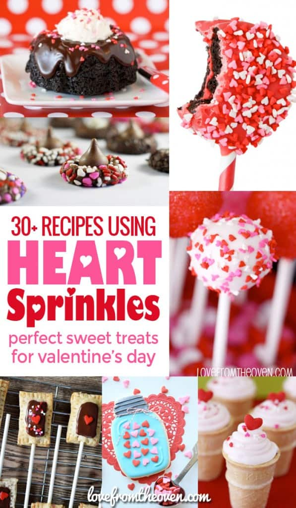 Valentine Recipes Using Heart Sprinkles