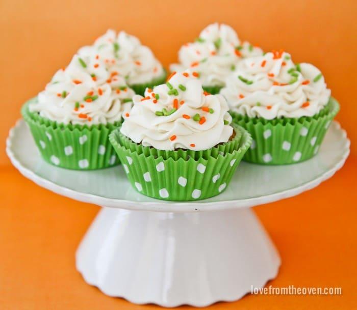 Carrot Cake Cupcakes-3