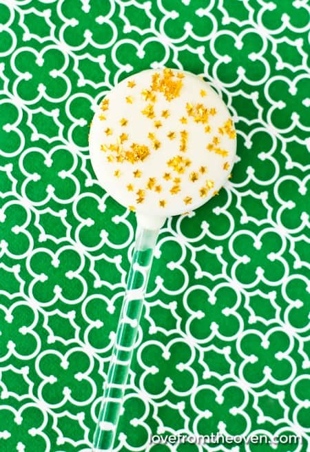 St Patricks Cookie Pops