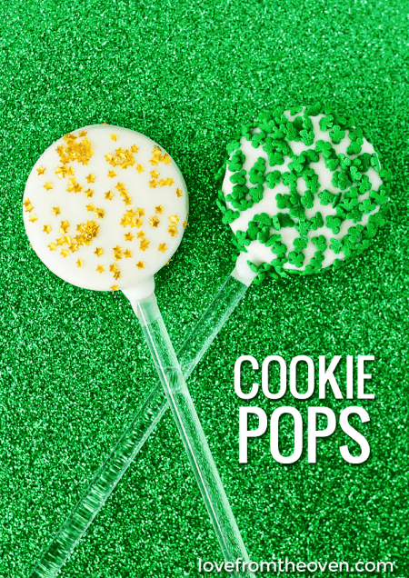 Easy Cookie Pops