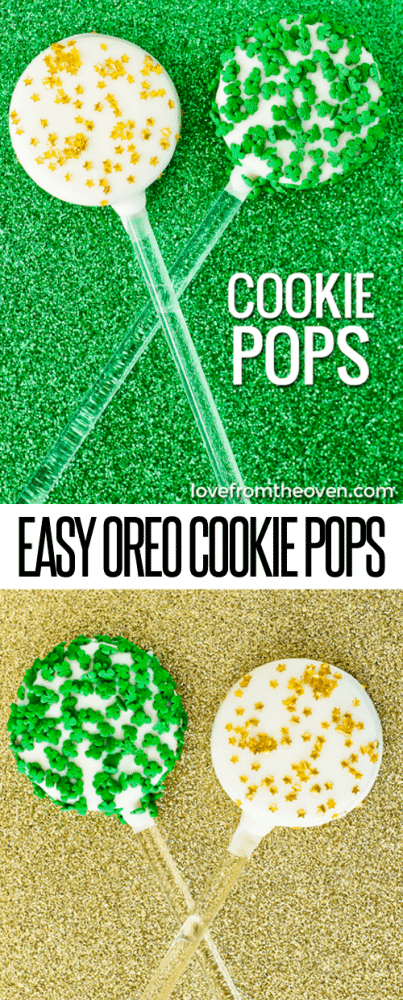 Easy Oreo Cookie Pops