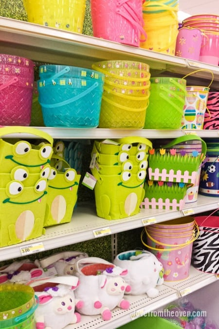 Easter Baskets at Target