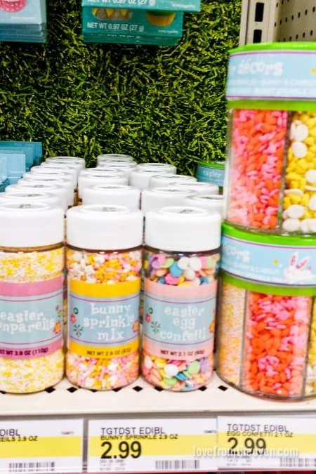 Easter Sprinkles at Target