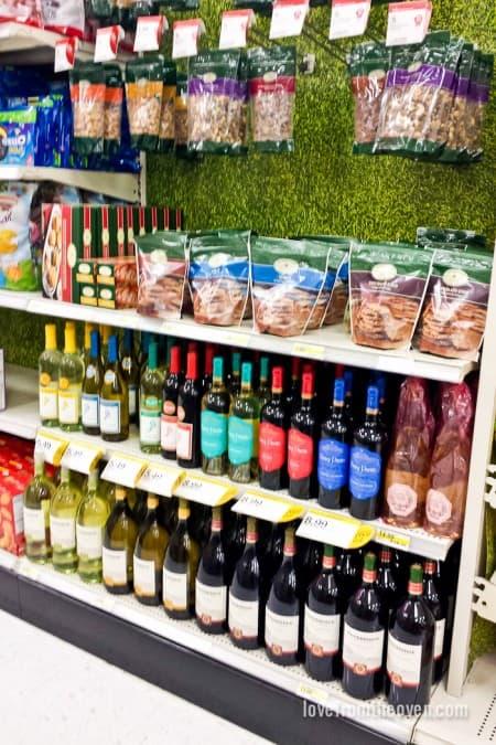 Wine at Target