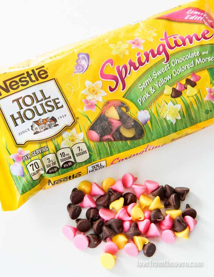 Nestle Springtime Chocoalte Chips