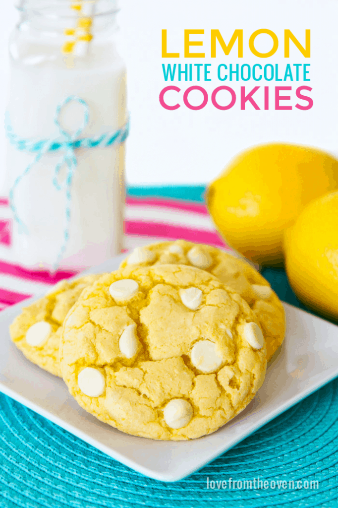 Cookies Made With Duncan Hines Lemon Cake Mix