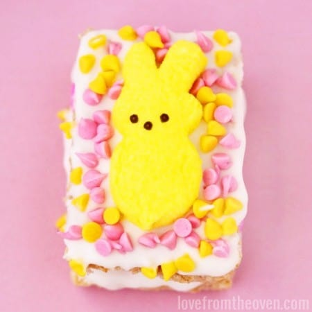 PEEPS Stuffed Crispy Treats at Love From The Oven
