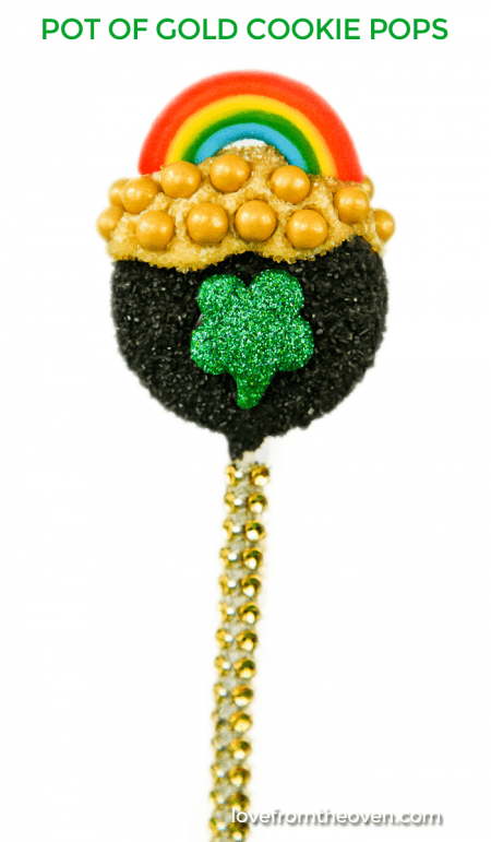 Pot Of Gold Cookie Pops