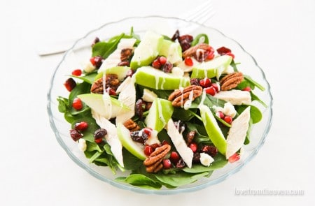 The perfect salad for a sweet tooth