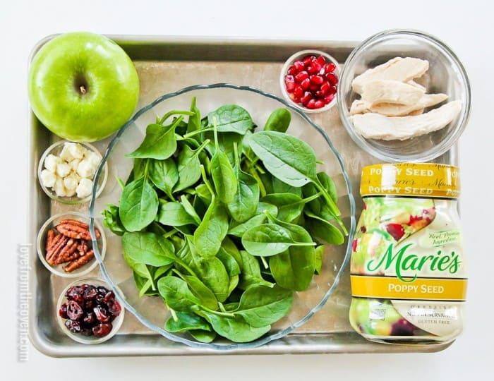 Sweet Tooth Salad Ingredients