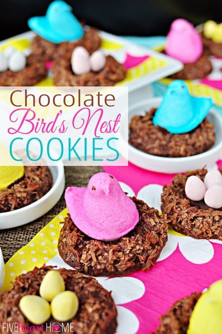 PEEPS Birdnest Cookies