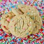 Very Vanilla Confetti Cookies