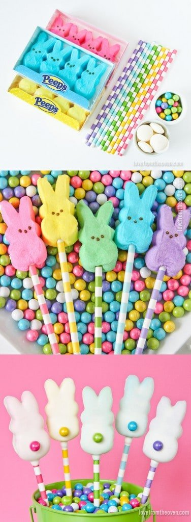 Easy Easter Bunny Pops
