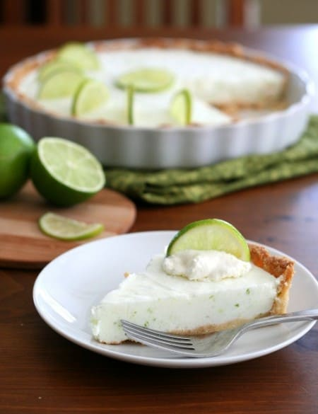 Low Carb Gluten Free Margarita Pie