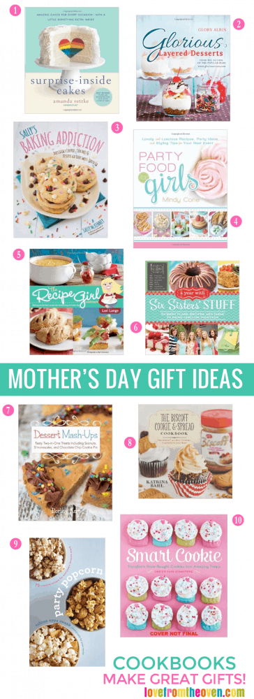 Great Mother's Day Gift Ideas For Bakers And Cooks