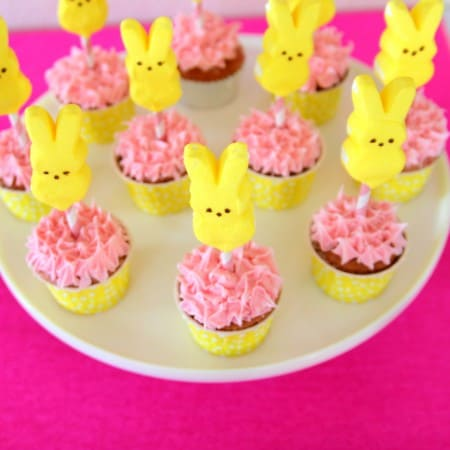 Peeps Cupcake Toppers