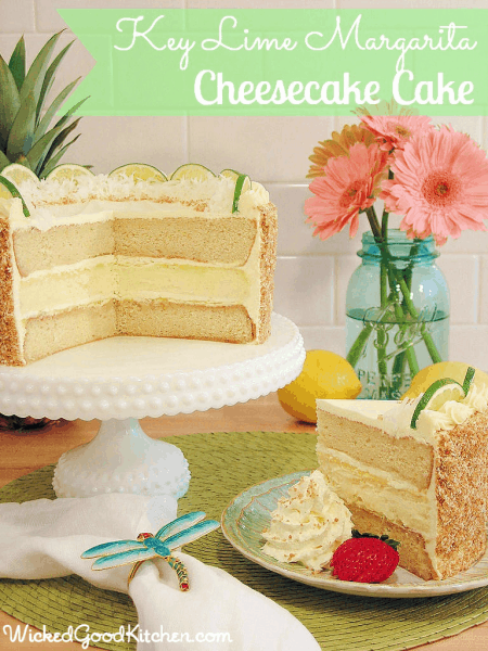 Margarita Cheesecake Cake