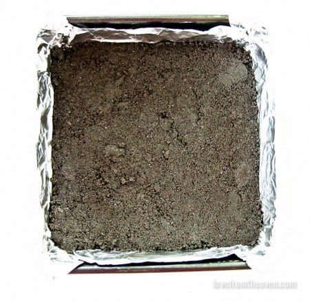 Oreo Cookie Crust