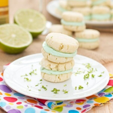 Margarita Sandwich Cookies