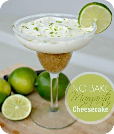 No Bake Margarita Cheesecake