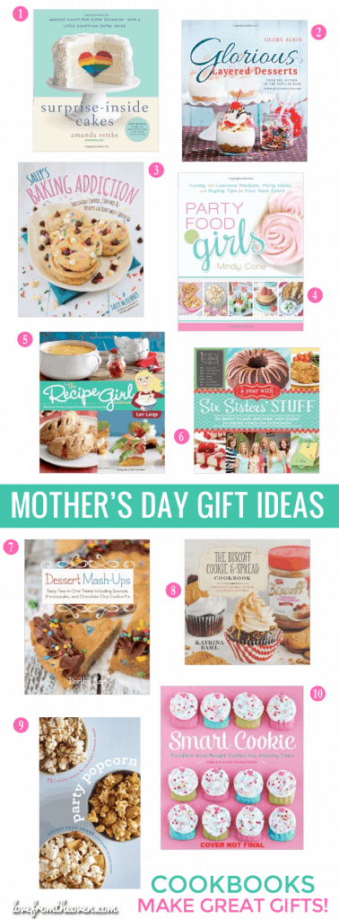 Mother's Day Gift Ideas Cookbooks