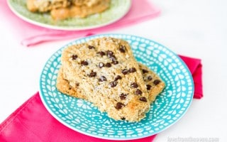 Oatmeal Chocoalte Chip Bars