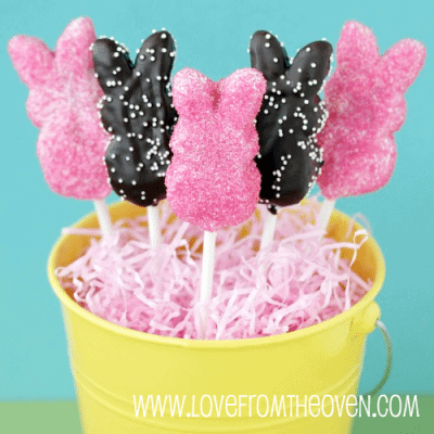 How To Make Peeps Pops