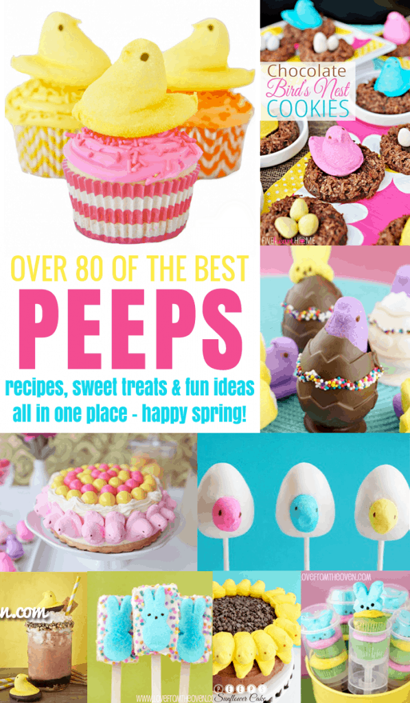 The Best Collection Of Peeps Recipes And Ideas On The Web
