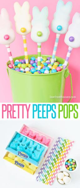 Pretty Peeps Pops