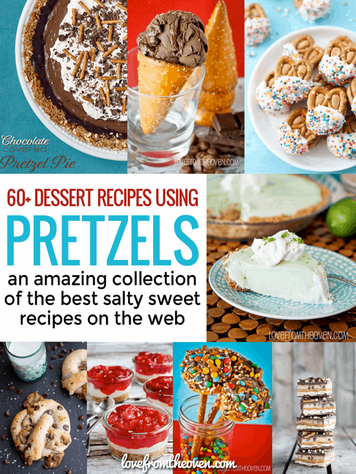 Pretzel Recipes Perfect For Dessert