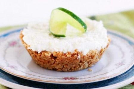 Mini No Bake Margarita Pie