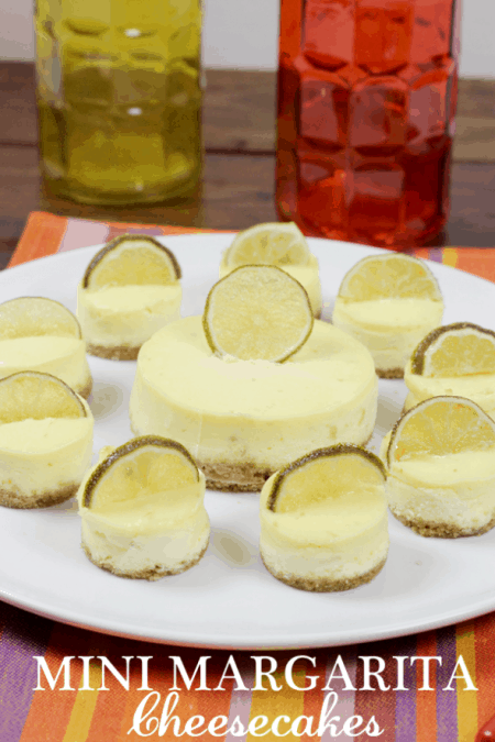 Margarita Cheesecakes