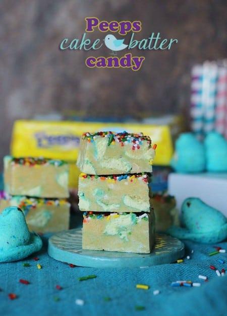 Peeps Cake Batter Candy