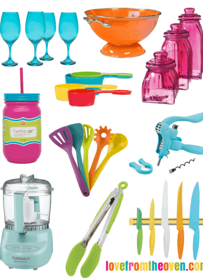 Colorful Kitchen Accessories