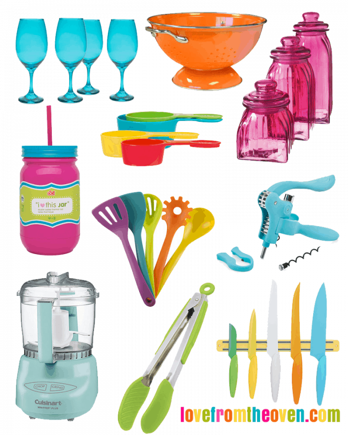 Superieur Colorful Kitchen Accessories