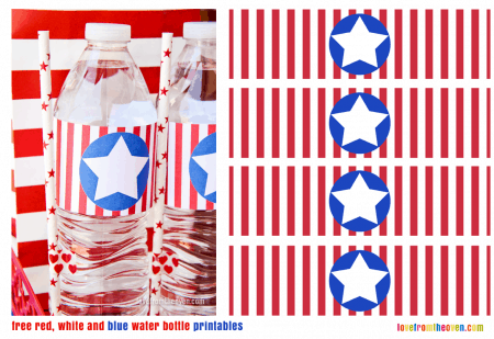 Free Red White And Blue Printables
