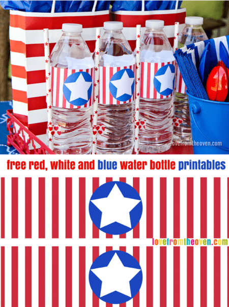 Free Water Bottle Printables