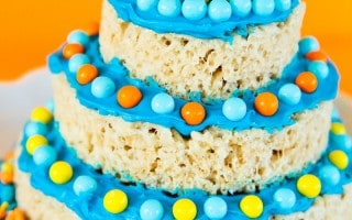Crispy Treat Layer Cakes