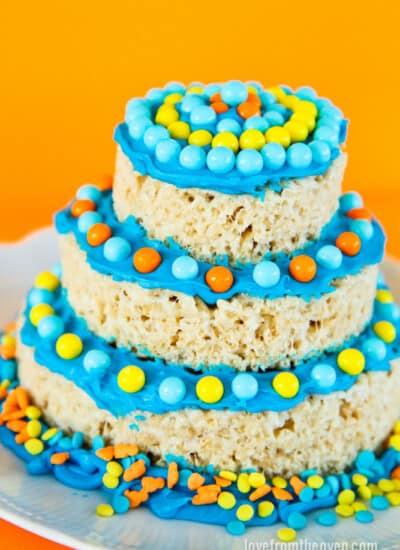 Crispy Treat Layer Cakes