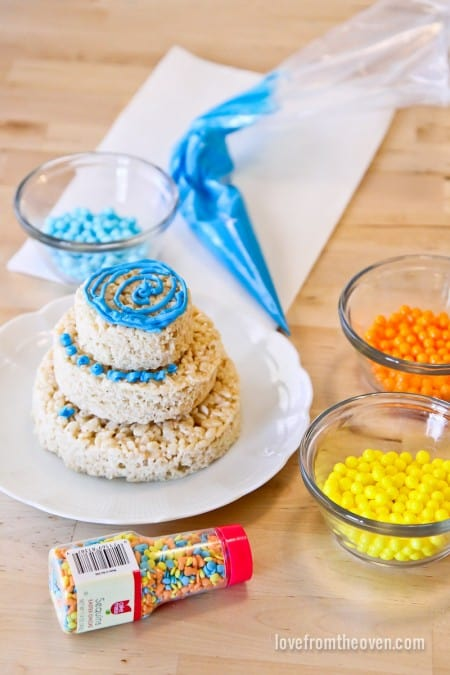 How To Make Rice Krispies For Cake Decorating